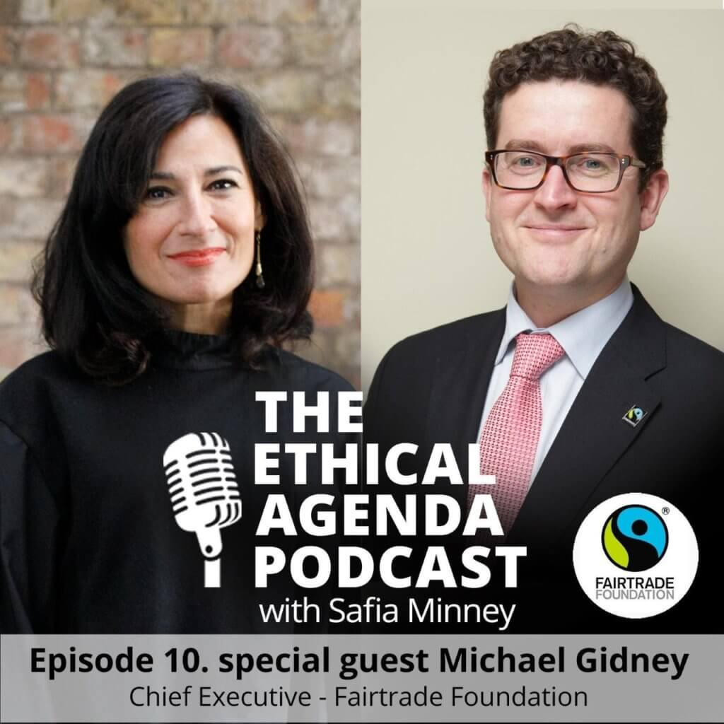 Safia Minney and Michael Gidney